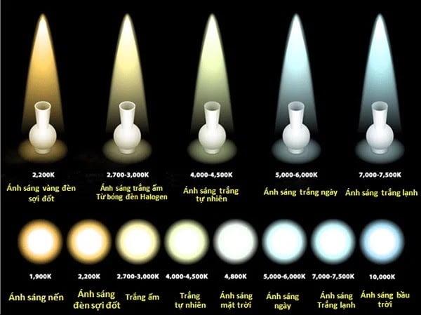 Chọn đèn đọc sách có màu sắc ánh sáng cân bằng