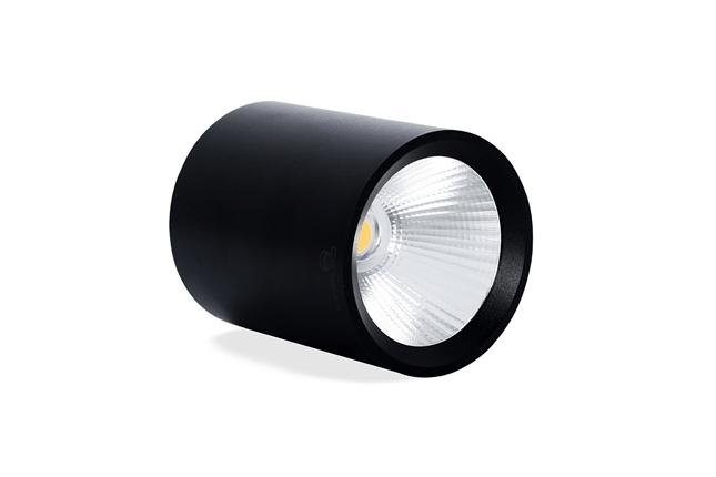 Đèn ống bơ chiếu rọi màu trắng