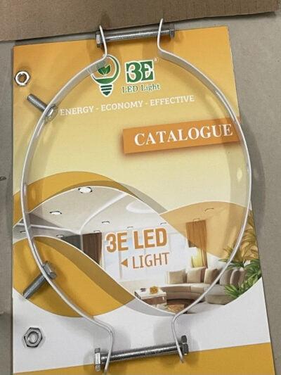 Thanh nẹp gắn trụ đèn solar Led 3E