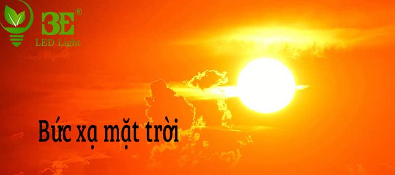 Bức xạ mặt trời